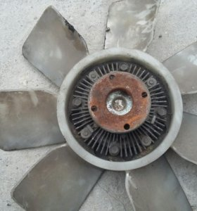 Вентилятор с вискомуфтой 2ct/3ct в наличии 2 штуки