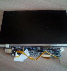экран с платой от компактного ноутбука