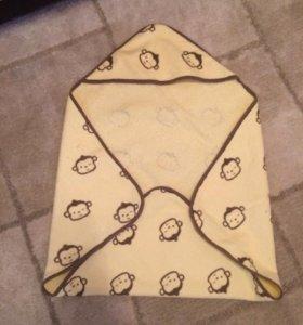 Полотенце для новорождённого
