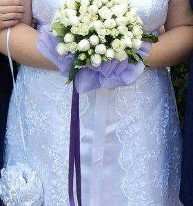 Свадебное платье на полненьких