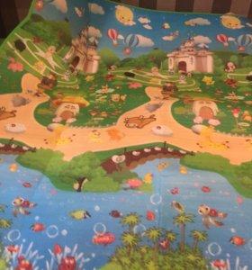 Новый коврик с сумкой 180х200 см + доставка