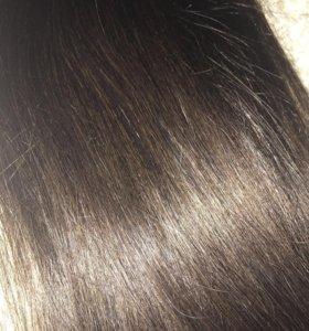 Натуральные волосы на заколках REMY