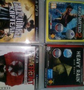 Игры диски PS3