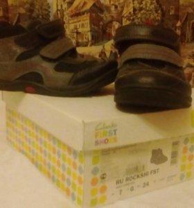 Ботинки фирмы Clarks
