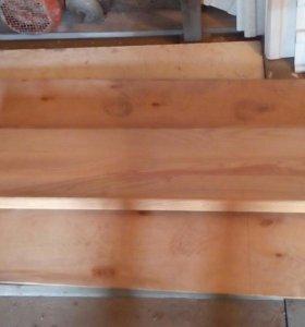 Ступени деревянной лестницы дуб бук
