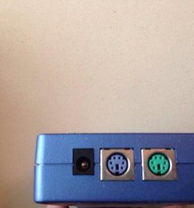 Переключатель KVM trendnet TK-200