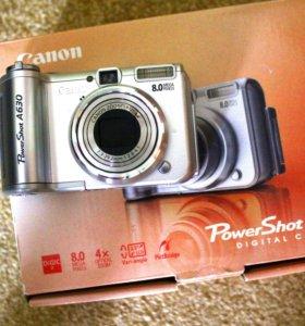 Фотоаппарат Canon a630 профессиональный