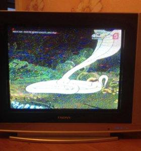 Телевизор Trony с плоским экраном