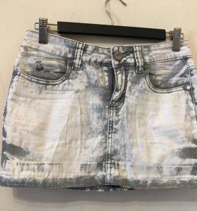 Юбка джинсовая,27 размер