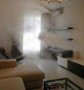 Удаление неприятных запахов+ароматизация