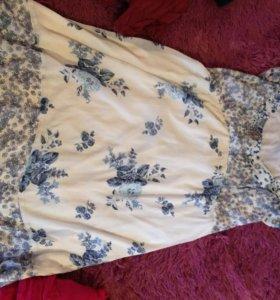 Летнее платье для будущих мам