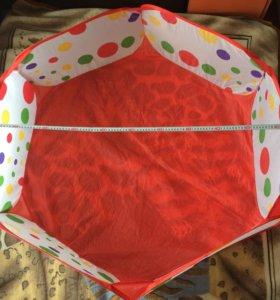 Манеж бассейн с шариками