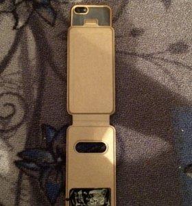 Новый золотой выдвижной чехол с экранами