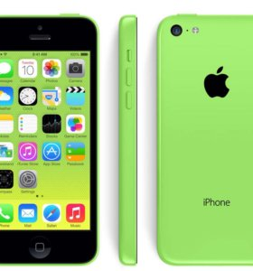 iPhone 5c green(зелёный)