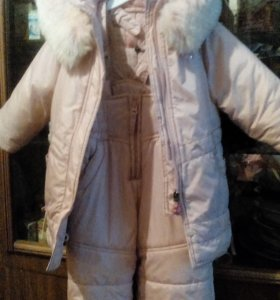 Куртка и полукомб. Зимний