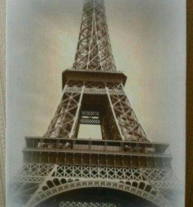Фотопринт на холсте Эйфелева башня