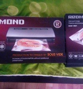 redmond rvs m020 вакуумный упаковщик