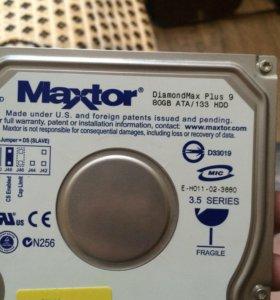 Жесткий диск 80gb