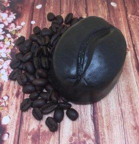 """Мыло-скраб с натуральным кофе ,, Кофейное зерно"""""""