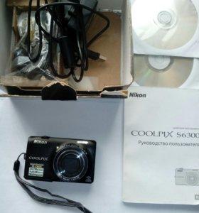 Фотоаппарат Nikon cоolpix s6300