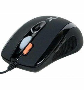 Проводная лазерная игровая мышь A4Tech ХL-750MK