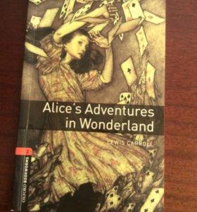 """Книга """"Алиса в стране чудес"""" на английском"""