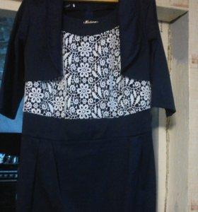 Оригинальное платье с болеро