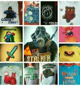 Роспись футболок на заказ