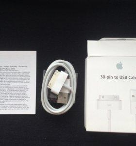 Оригинальный кабель iPhone 4-4s