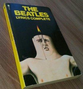 Винтажная книга The Beatles Lyrics Complete 1969г