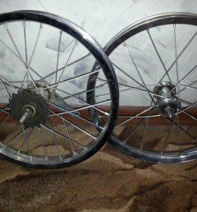 Комплект колес для детского вела на 16