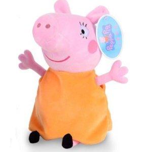 Мама свинка из мультфильма свинка Пеппа.
