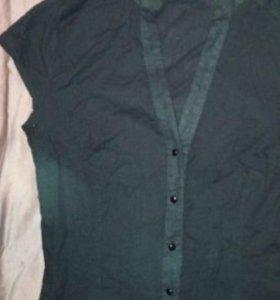 Блузка хлопок 44 новая