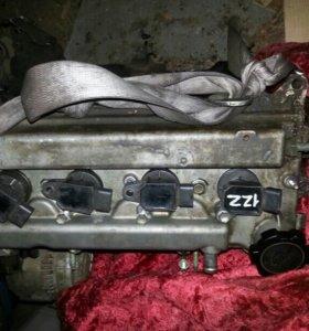 Двигатель 1.8 на запчасти ,масло жрал .