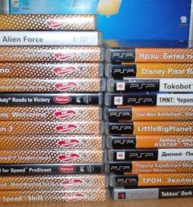 Игры PSP.