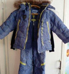Зимний костюмы, пуховики