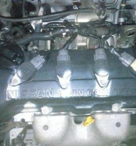 Двигатель QG18DE на Primera P11