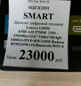 Новый Lenovo G505s Гарантия