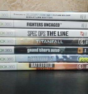 Xbox 360 (без прошивки)+Kinect+2 геймпада