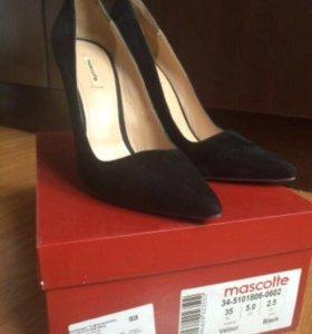 Туфли замшевые Mascotte