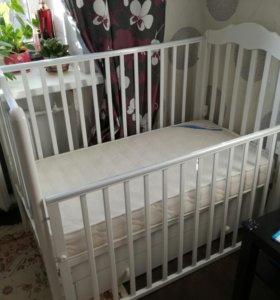 Детская кроватка Гандылян Анастасия(без матраса)