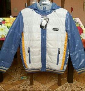 Куртки 158 см,164 см новые демисезонные