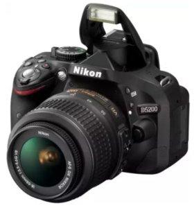 Зеркальный фотоаппарат NIKON D5200 Kit 18-55 mm