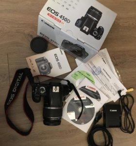 Фотоаппарат canon 450d kit