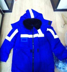 Зимний костюм огнезащитный с МВО свойствами