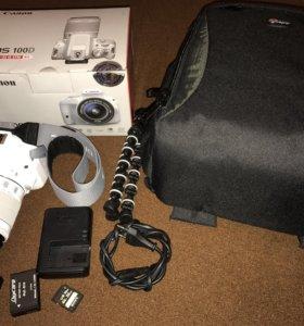 Canon eos 100D Ed-a 18-55 is stm kit