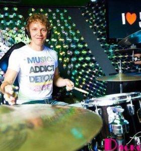 Уроки игры на барабанах(ударная установка)