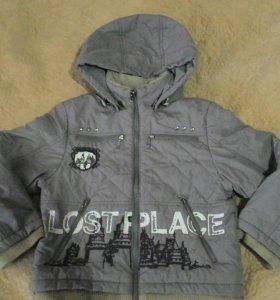 Димисезонная куртка для мальчика