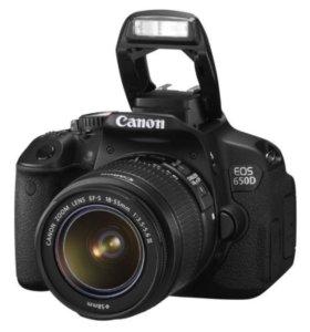 Зеркалка Canon eos 650D