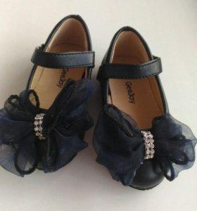 Детские туфли 19 размер для девочек